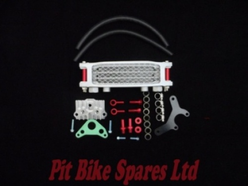 Pit Bike High Quality Radiator Cooler Conversion Kit With Pipes