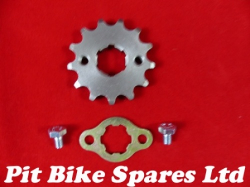 Steel 420 Pitch 13 Tooth 20mm Shaft Sprocket & Mounting