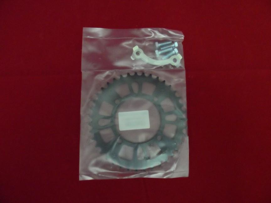 Black Heavy Duty 39 Tooth 428 Pitch SDG Wheel Fitment Rear Sprocket.